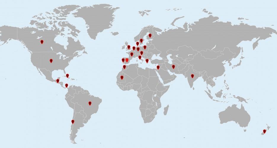 Bosado en el mundo - Internacional