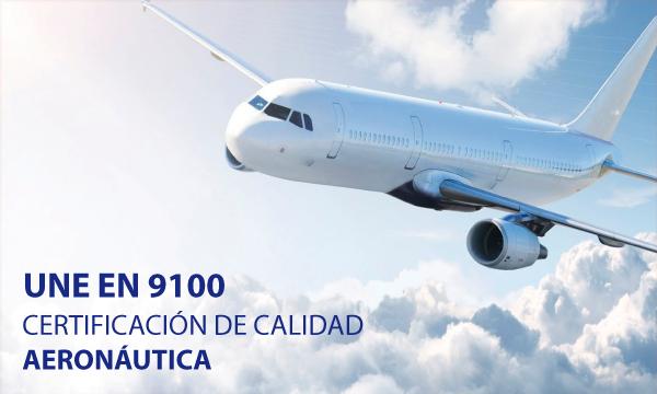 Bosado Aeronautica UNE EN 9100